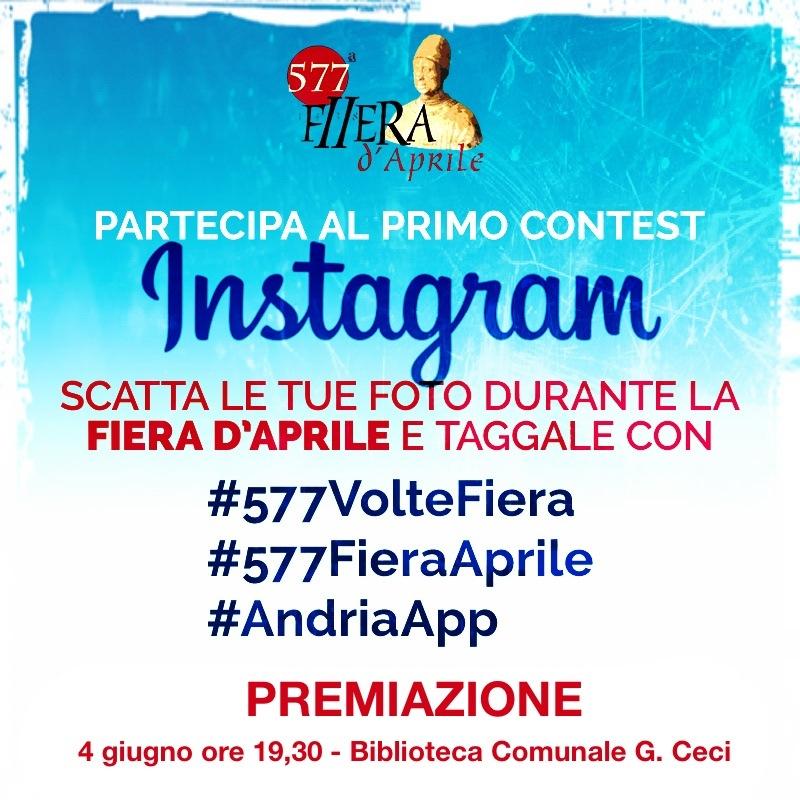 Premiazione Instagram