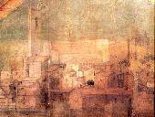 particolare della pala dell'artista Tuccio da Andria (XV sec.)