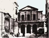 foto della faccita della chiesa Cattedrale dei primi dell'800