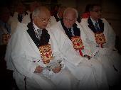 I Priori Conte Onofrio Spagnoletti Zeuli, Conte Tommaso Jannuzzi e il Vice Priore Dott. Francesco Saverio Suriano