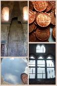 la magia di Castel del Monte, il piccolo euro centesimo nazionale italiano