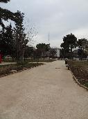 Uno dei viali interni